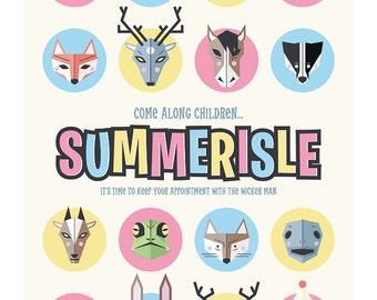The Wicker Man: Summerisle Art Print