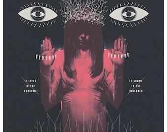 Blood on Satan's Claw Art Print - Giclee A2 Folk Horror