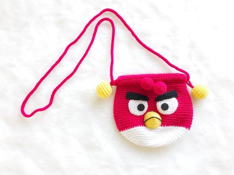 Red Heart Amigurumi Yarn-bird Makes 2 Angry Bird Figures Knit ... | 595x794