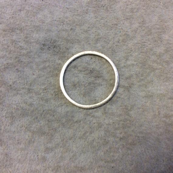 30mm or brossé finition cercle/anneau/cerceau ouvert en forme de composants en cuivre plaqués - vendus en vrac pré grille pour les paquets de 10 pièces - (006-GD)