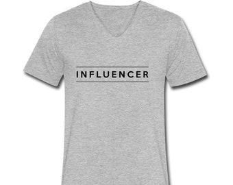T-shirt men influence