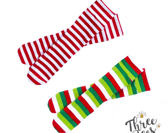 Featured listing image: Christmas Knee high socks