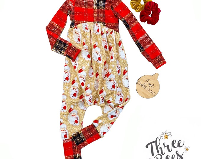 Featured listing image: Christmas Gianna romper