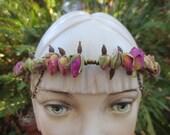 Floral Head Garland, Drie...