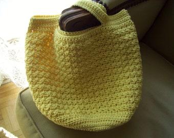 Handmade round bag