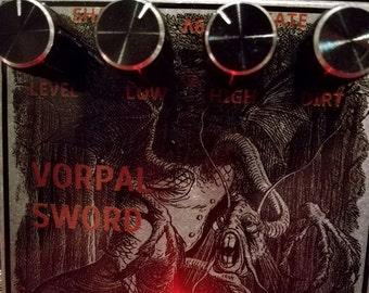PICKLETECH - VORPAL SWORD - fuzz/distortion pedal & neighbour-annoyer