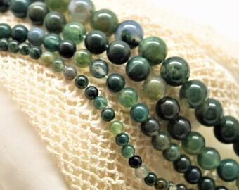 Agathe beads 4/6/8/10 mm