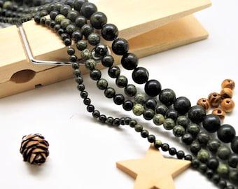Serpentine beads 4/6/8/10 mm
