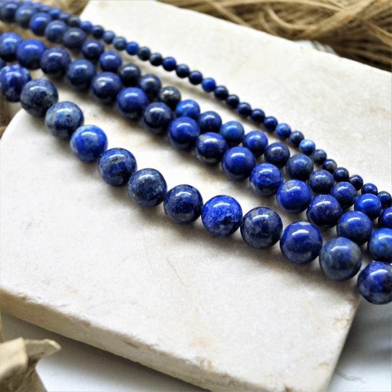 Lapis lazuli beads 46810 mm