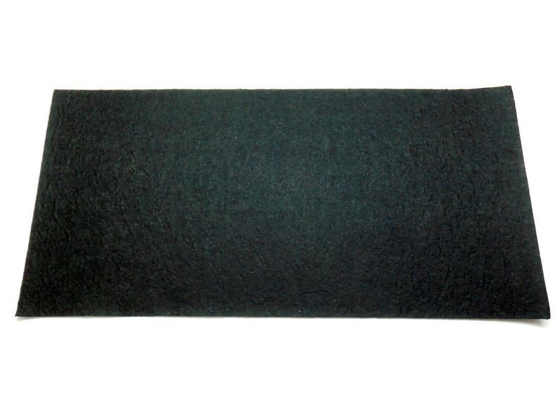 1 coupon black felt sheet 30 x 15 cm image 0