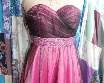 Taffetta evening gown REF 548