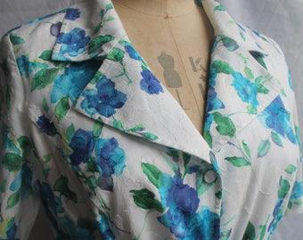 Button thru shirt waister dress with tie belt REF 733