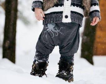 Mini evolutionary harem pants for children / harem pants evolutiv Mini for kids