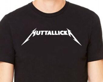 cb2aa1d90 Men's Rock Band T Shirt for Dog Lovers, Muttallicka Mens T Shirt, Rock Parody  T-Shirt for Men • Rock and Metal Dog T-Shirts • Dog Dad
