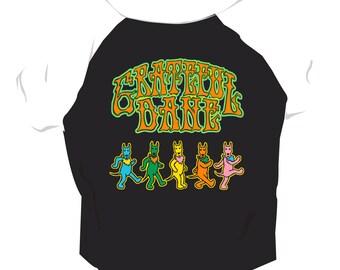 e6044ee9 Grateful Dane Dog T Shirt for Music Lovers, Great Dane,Grateful Dead Music  Parody Dog T-Shirt, Mutt Merch