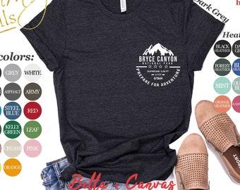 4fc8a3a205 Bryce Canyon National Park Shirt | Tank Top | V-neck | Long sleeve |  Sweatshirt | Hoodie | Mug | Utah Hiking & Camping Adventure Gifts