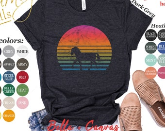 GIRLS BOYS Top Personalised BLACK BEAUTY HORSE RIDING T Shirt BIRTHDAY GIFT