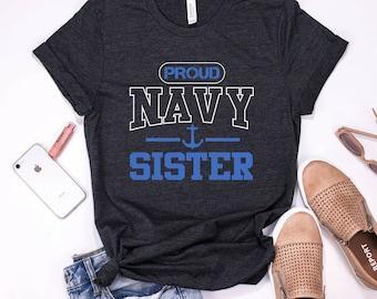 2489808f82d Proud Navy Sister Shirt