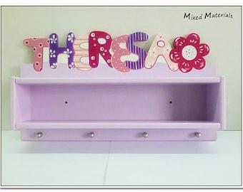 Kinder Garderobe Name Motiv Fur Madchen Mit Etsy