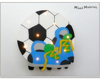 Children - snooze lamp * football *.