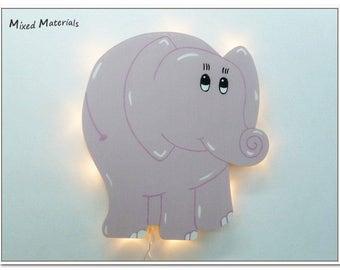 Children - snooze lamp * elephant *.