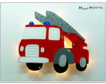 Children - snooze lamp * fire *.