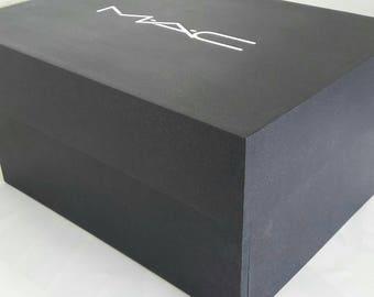 make up storage box mac inspired storage box make up not etsy