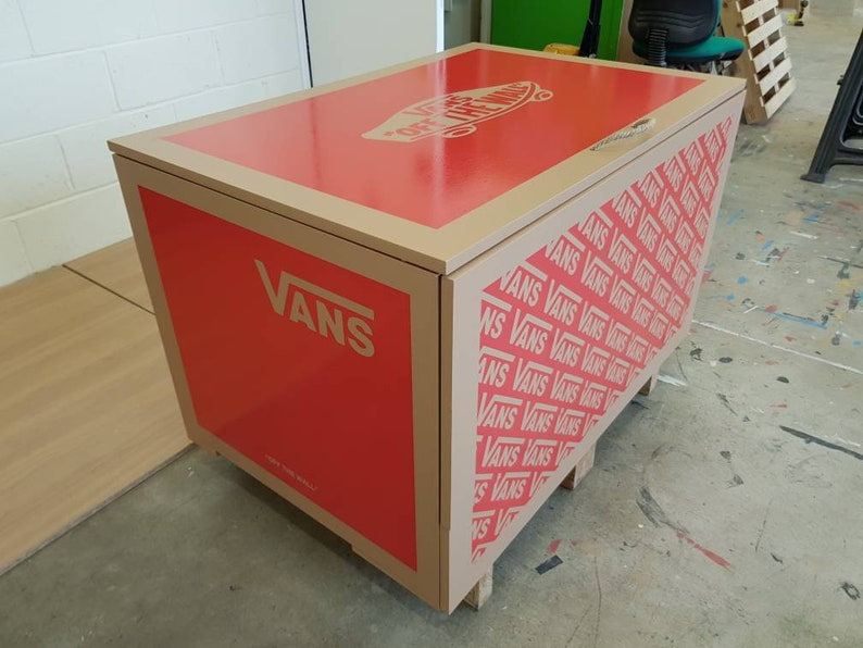 0078609dbd98a XL / Giant Trainer / Sneaker Shoe Storage Boxes, Vans (to fit 24+no pairs  of trainers), gift for him, birthday present, handmade, storage