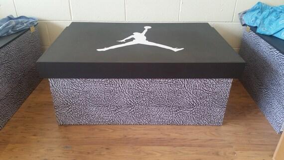 FORMATEUR géant XL SNEAKER chaussure rangement Nike Air Jordan (qui se tient 16no paires), cadeau pour lui, cadeau d'anniversaire, stockage