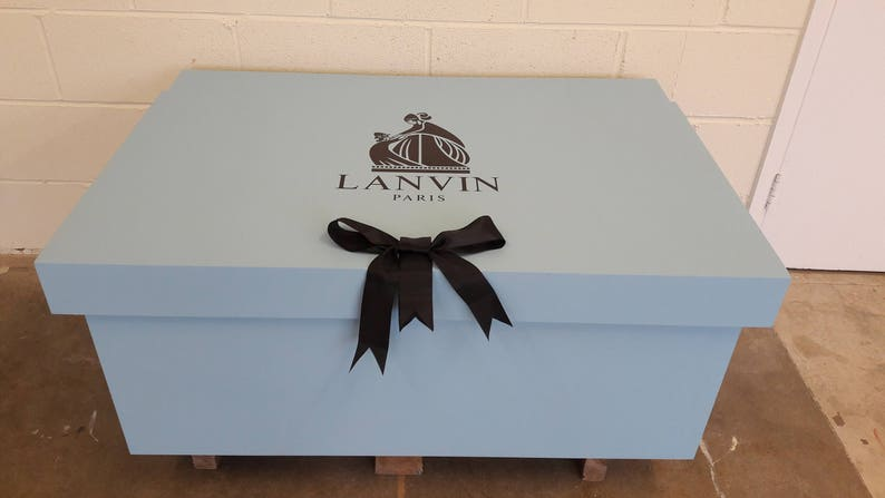 f92c7f8087b67 XL / Giant Trainer/ (16pairs)/ Sneaker Shoe Storage Box, Lanvin, him,  birthday present, gift, present, shoe box, storage