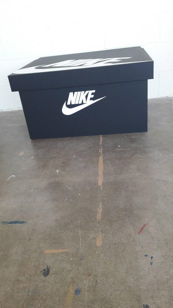 XL Nike Trainer Boîte à chaussures - détient 12no paires de baskets, cadeau pour lui, cadeau d'anniversaire, cadeau, cadeau, boîte à chaussures ...