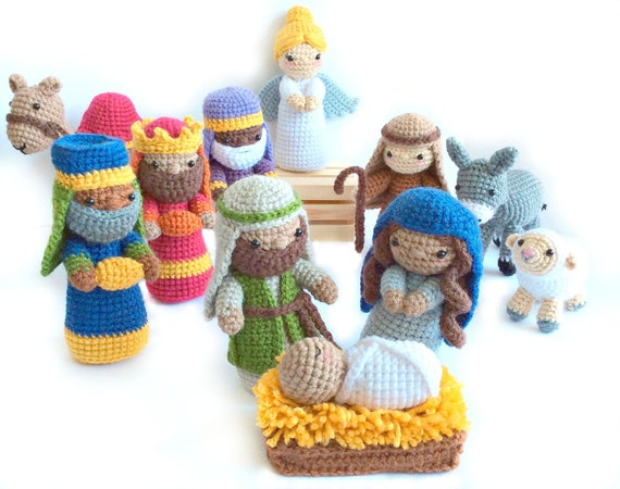 Crochet Nativity Pattern Amigurumi Nativity Pattern