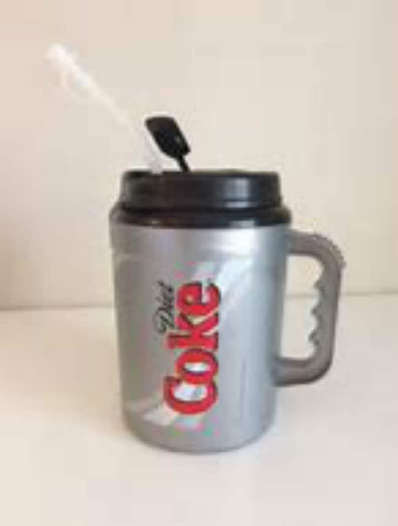 LONG Replacement STRAW For Your GIANT HUMONGOUS Drink Tumbler /& Mug JUMBO