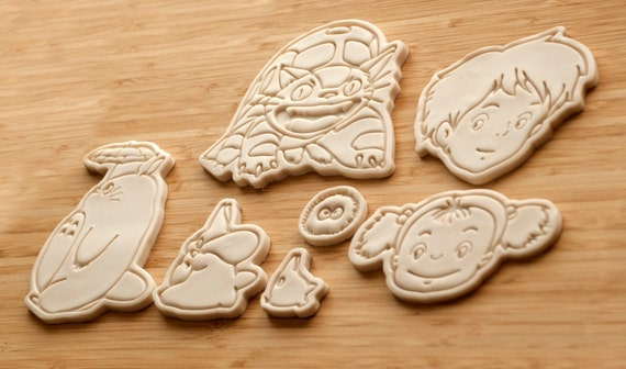 image 0 image 1 My Neighbor Totoro Cookie cutters.