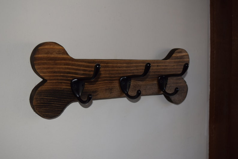 Mastino Napoletano dog Hanger  holder leashes ANY COLOR rack key of wood tinted  acrylic paint and lacquer Neapolitan Mastiff handmade