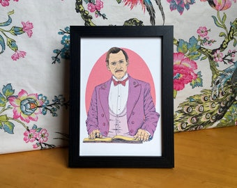M. Gustave The Grand Budapest Hotel Wes Anderson Art Print