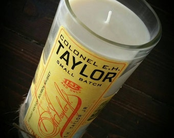 Colonel EH Taylor bourbon candle