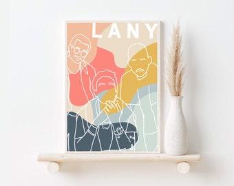 LANY print