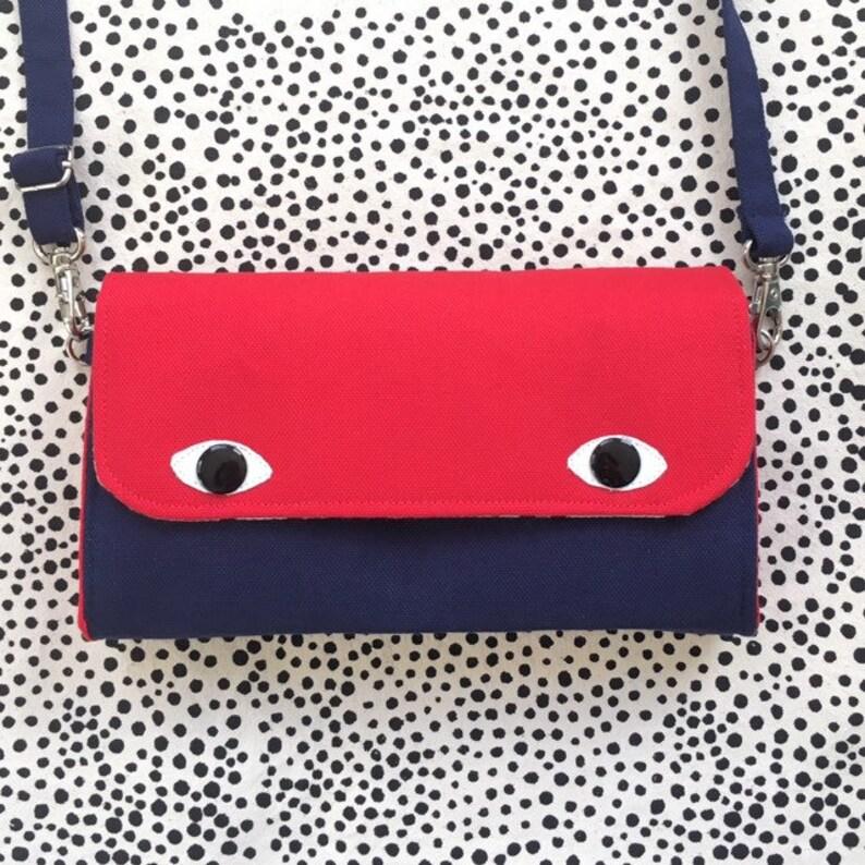 Eyebag Accordion Wallet Necessary Wallet Cross Body Bag image 0