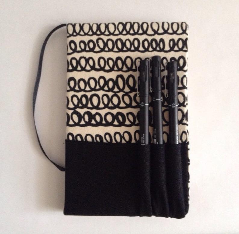 Classic Moleskine Notebook/sketchbook cover Handmade image 0