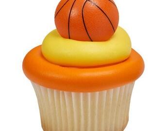 Basketball Cupcake Toppers #12
