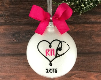 Nurse Ornament, RN Graduation Gift, Registered Nurse Gift, RN Gift, Nurse Graduation, Gift For Nurse, Nursing Graduation, Personalized Nurse