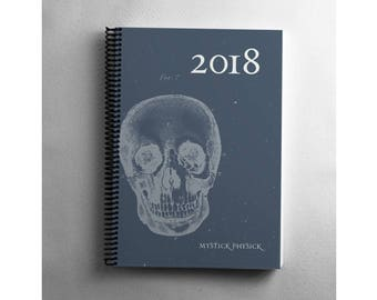 2018 Astrological Day Planner | Monthly Appointment Planner | Month-at-a-glance | Week-at-a-glance | 2018 Weekly Agenda | Month on Two Pages