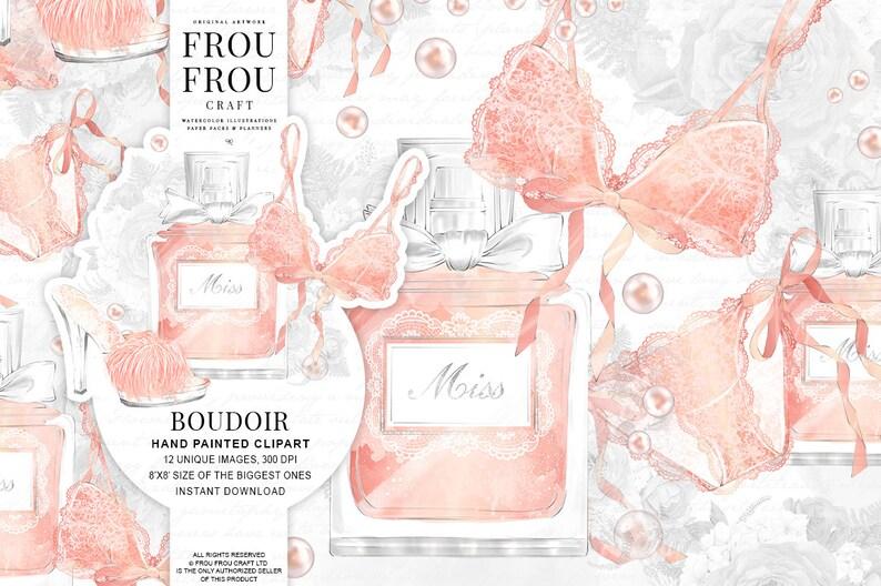 075f51050404c Bridal Shower Invitation DIY Watercolor Clipart Fashion Clip
