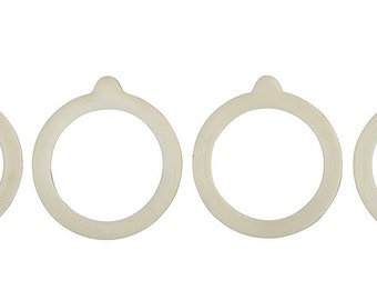 HIC Silicone Canning Jar Replacement Gasket Rings - 4 pack