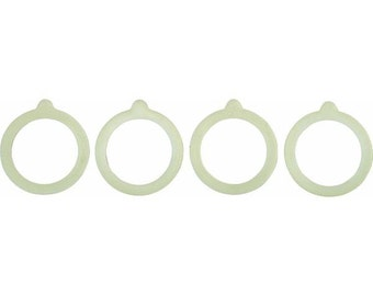 Silicone Canning Jar Replacement Gasket Rings - 4 pack
