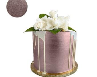 ROSE GOLD Luster Dust ( 4 g - 1 oz - 2 oz - 4 oz )  Food Fondant Color Cake Decorating Gum Paste