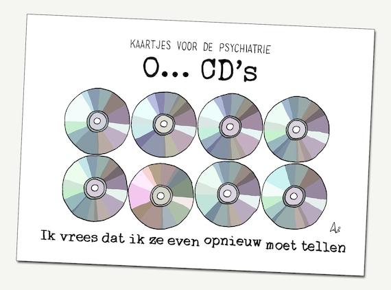Wenskaart: O... CD's