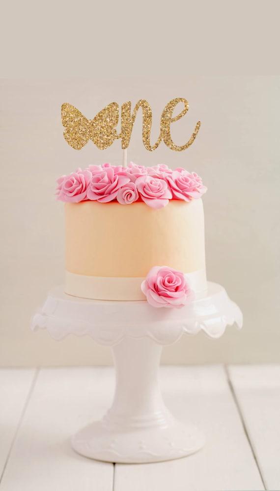 Astounding One Cake Topper First Birthday Cake Topper First Etsy Personalised Birthday Cards Petedlily Jamesorg