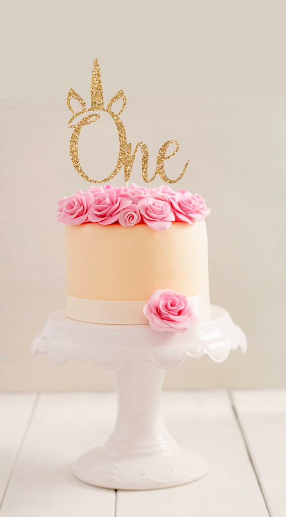 Miraculous One Cake Topper First Birthday Cake Topper First Etsy Personalised Birthday Cards Veneteletsinfo